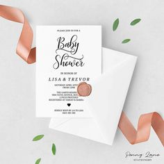 Invite your guests to celebrate your future baby girl or baby boy (but without any pink or blue anywhere). Keep everyone guessing with these neutral baby shower invitation printables. You can customize them so easily. And we've thought of everything for your baby shower signs (and the favor tags are so adorable!). And you can put all the money you save on our printable invitations into the baby nursery!