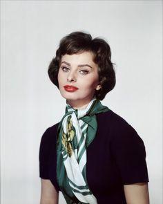 Sophia Loren classic elegance