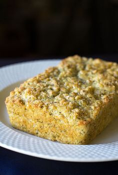 A slightly sweet quick bread flavored with lemon and tarragon | mjskitchen.com
