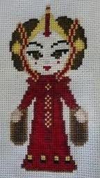 Amidala cross stitch
