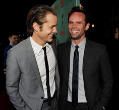 Justified - Timothy Olyphant and Walton Goggins