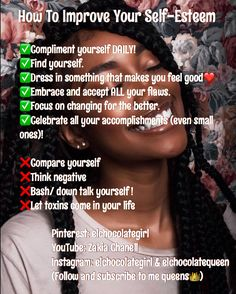 self care tips✨ Girl Advice, Girl Tips, Girl Life Hacks, Girls Life, Glow Up Tips, Hoe Tips, Baddie Tips, Confidence Tips, Self Care Activities