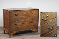 Vintage Old Oak Chest of Drawers Reclamation Yard, Reclaimed Doors, Vintage Dressers, Garden Items, Architectural Salvage, Chest Of Drawers, Flooring, Architecture, Antiques