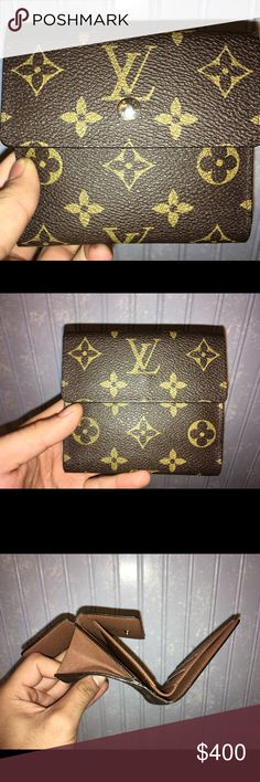 Louis Vuitton Monogram Purse Wallet LV Monogram. Can honestly say I used this one time. Louis Vuitton Bags Wallets