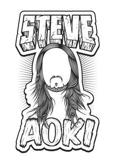 Steve Aoki - T-shirts design on Behance