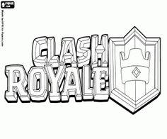 Resultado de imagen para dibujos a lapiz faciles de el logo de clash royale