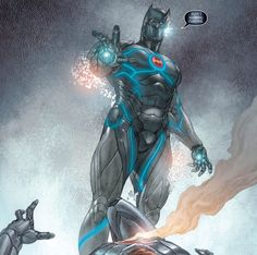 When Alfred's beaten to death by Bane, Batman created and merged with an A.I. of him. Then proceeded to kill everyone.