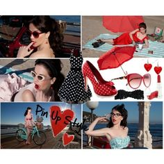 Pin Up Style by Las Oreiro on Polyvore
