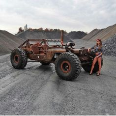Jeep Wrangler rock crawler rat rod