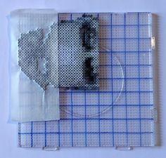 30 lignes perles à repasser mini Masking Tape, Toilet Paper, Creations, Towel, Mini, Hama, Duct Tape, Towels