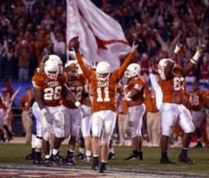 Major Applewhite had a solid career with the Longhorns, highlighted by a thrilling upset over Nebraska and a record-setting performance vs. Washington in the Holiday Bowl