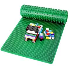 Click N Play Lego/duplo Compatible Double Sided Silicone Baseplate Mat for sale online