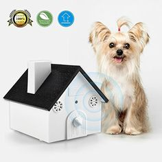 Ultrasonic Outdoor Bark Controller Anti-barking Devices Sonic Bark Deterrent by Homitem, No Harm To Dogs or other Pets,Plant,Human,Easy Hanging/Mounting,3 Modes,Birdhouse Shaped(White). * Check this awesome product by going to the link at the image. (This is an affiliate link) #DogTrainingBehaviorAids