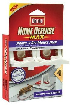 http://amzn.to/XV9BYE: The Scotts Co. 0321110 #Ortho Home Defense MAX Press 'N Set Mouse Trap: Home & Kitchen