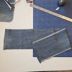 Denim Bag Patterns, Bag Patterns To Sew, Sewing Patterns, Sewing Projects For Beginners, Sewing Tutorials, How To Make Jeans, Denim Crafts, Recycled Denim, Cotton Rope
