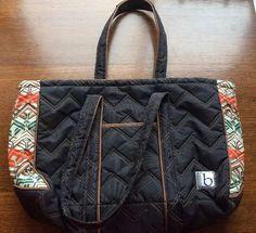 Cinda B Shoulder Bag/ Tote, Teacher  Ag Travel Bag, Quilted And Padded    eBay
