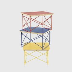 Limited Edition: Herman Miller Select 2012 Eames® Wire Base Low Table (LTRT)