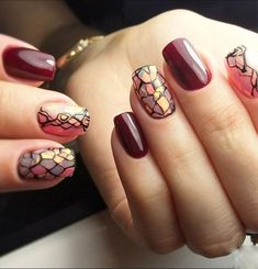 Absolutely Gorgeous Wedding Nail Art Designs