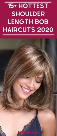 Layered Bob Hairstyles for 2020 15 Hottest Shoulder Length Bob Haircuts 2020 Bob Haircut Haircuts For Medium Hair, Layered Bob Hairstyles, Haircut For Thick Hair, Short Bob Haircuts, Medium Hair Cuts, Short Hair Cuts, Medium Hair Styles, Short Hair Styles, Haircut Bob