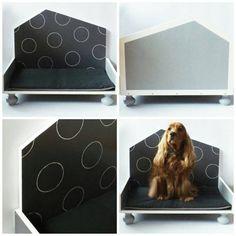 Cuccia di design in legno per gatti e cani di taglia media _ Beagle, Etsy, Design, Beagle Hound, Beagles