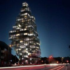Rødovre Skyscraper by MVRDV and ADEPT
