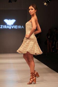 María Cielo: Los vestidos crochet de Alzira Vieira
