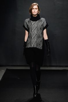 View all the catwalk photos of the Atsuro Tayama autumn (fall) / winter 2015 showing at Paris fashion week.  Read the article to see the full gallery.