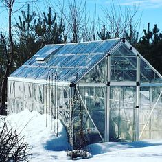 @katrrau -Sweden: In the greenhouse, I would probably have already made a point. Eka times this year the automatic opener opens the hatches. Spring  #palramgreenhouse  #greenhouse #spring