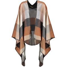 Wallis Cape camel ❤ liked on Polyvore featuring outerwear, capes, jackets, cardigans, camel cape, camel cape coat and cape coat