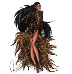 Following her path by Daren J Disney fashion frenzy series