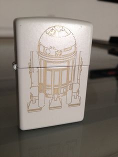 R2D2 Star Wars Zippo by CuttingEdgeEngraving on Etsy, $45.00