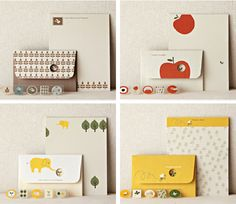 {shinzi katoh letter sets} - seriously the cutest thing!