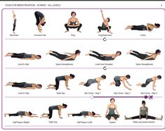 yoga poses to ease menstrual cramps  work it out  yoga