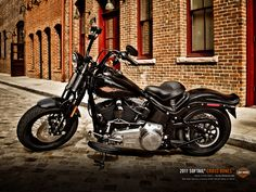 2011 Harley Davidson Crossbones. New bike. Looks old school. Totally pulls it off.
