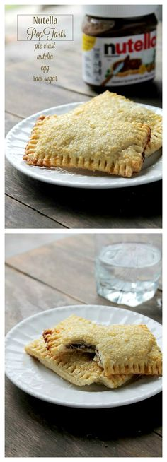I may regret pinning this...because I can buy two big jars of Nutella at Costco.    Homemade Nutella-Stuffed Pop Tarts.