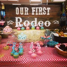 And don't feel left out if you have twins, make it a combination cowboy and cowgirl themed birthday party!