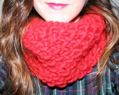 lil snood dogg in lipstick red #woolandthegang #madeunique