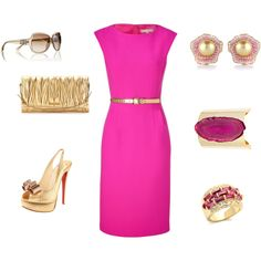 Spring/Summer Wedding look, Pink my signature color!