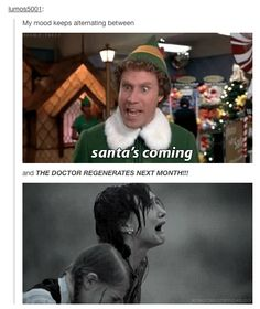 This is how Whovians perceive Christmas.