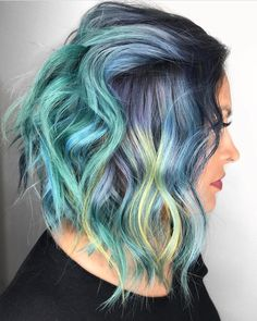 """2,435 Likes, 16 Comments - Pulp Riot Hair Color (@pulpriothair) on Instagram: """"@candicemarielv from @squaresalonlv is the artist... Pulp Riot is the paint."""""""