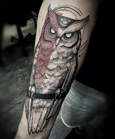 """1,025 Likes, 23 Comments - Lucas Martinelli (@lucasm_tattoo) on Instagram: """"➕Owl #tattoo #ink #inked #inkedmag #art #tattoo2me #electricink #amazingink #inspirationtatto…"""""""