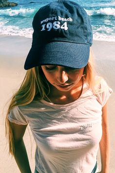 Brandy ♥ Melville | Katherine Newport Beach 1984 Cap - Beanies & Hats - Accessories