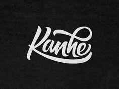Type looks cool :) Typography Logo, Typography Design, Branding Design, Logos, Vintage Lettering, Hand Lettering, Vintage Branding, Typography Inspiration, Graphic Design Inspiration