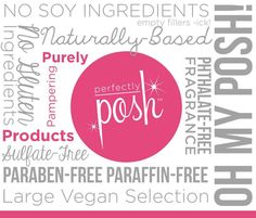 Perfectly Posh All Natural Pampering Products