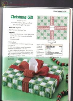 Plastic Canvas Coasters, Plastic Canvas Ornaments, Plastic Canvas Tissue Boxes, Plastic Canvas Christmas, Plastic Canvas Crafts, Plastic Canvas Patterns, Cross Stitching, Cross Stitch Embroidery, Tissue Box Covers