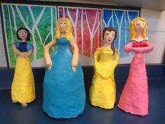 Artsonia Art Gallery - A26. Paper mache sculpture