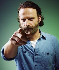 Andrew Lincoln poses for a portrait in the Portrait Studio at Comic-Con International 2014 at Hard Rock Hotel on July 26, 2014 in San Diego, California.
