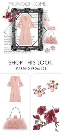 """""""50 shades of pink 🎀"""" by minahalilcevic ❤ liked on Polyvore featuring Roksanda, Marchesa, Dolce&Gabbana, Crate and Barrel and I. MILLER"""