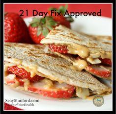 21 day Fix Snack Ideas