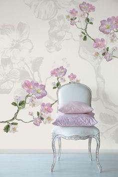 Pink Wallpaper.  Love this wallpaper...